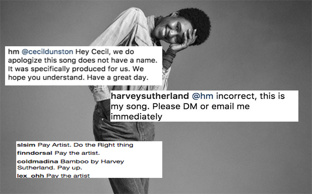People Are Calling H&M Out For 'Stealing' Song From Melb Producer