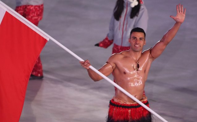 Shirtless Tongan Bae Pita Taufatofua Is Back For Your Winter Olympic Thirst