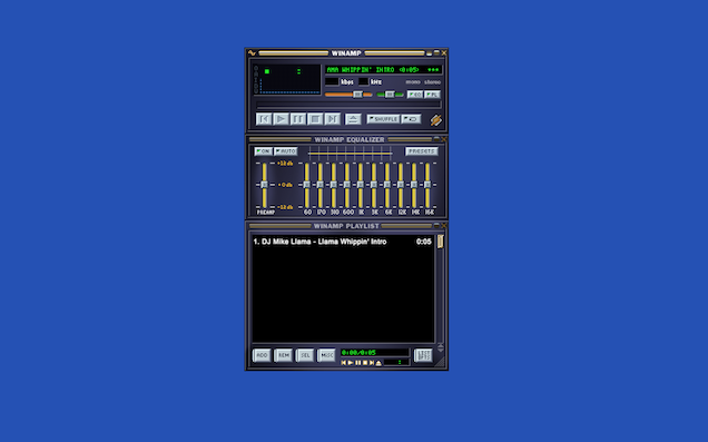 Play Your Virus-Ridden Limewire MP3s On This Browser Version Of Winamp