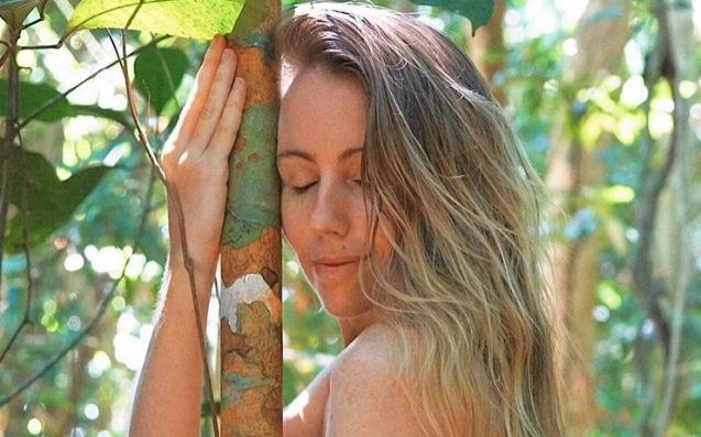 Freelee The Banana Girl Debuts Her New 'Off-Grid' Naked Lifestyle On Insta