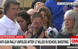 Florida School Shooting Survivor's Powerful Anti-Gun Speech Goes Viral