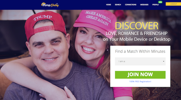 Greensboro Couple Are Faces of Dating Website for Trump Supporters