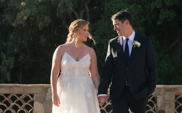 Amy Schumer surprises fans by revealing she's married on Instagram