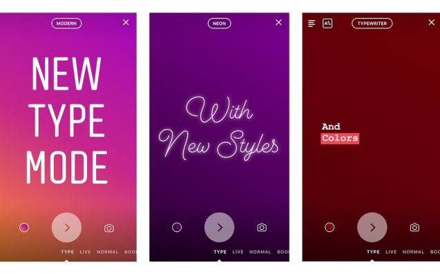 Instagram Now Lets You Add Text-Only Slides With Pretty Fonts To Yr Stories