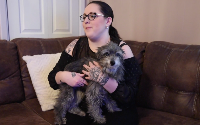 Woman Miraculously Adopted The Same Dog She Had To Give Up 7 Years Ago