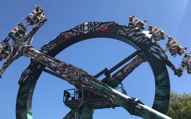 Thrill-seekers Stuck Upside Down On Doomsday Destroyer Ride At Movie World