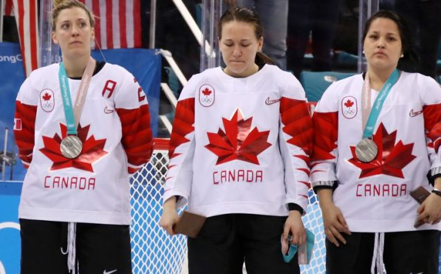 Canada's Jocelyne Larocque ordered to wear unwanted silver medal