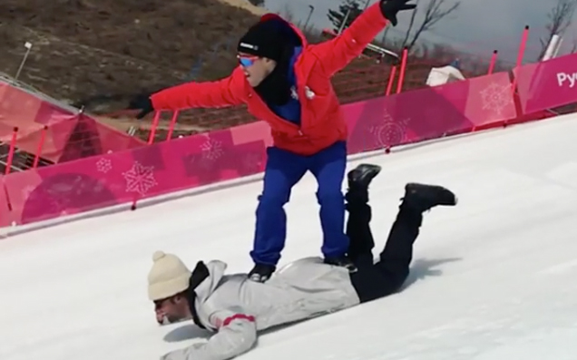 Behold The Winter Olympic Sport Of The Future: Human Sledding