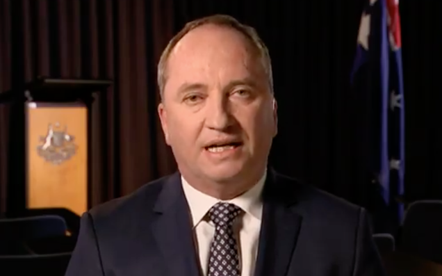 Anti-gay marriage politician Barnaby Joyce caught cheating on wife