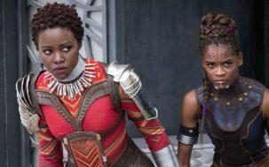 Black Panther Lupita Nyong'o Injury