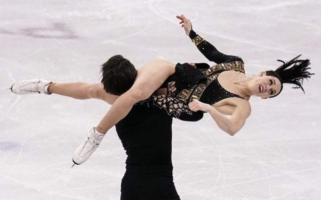 Canadian Figure Skaters Drop Horniest Part Of Routine To Secure #1 Spot