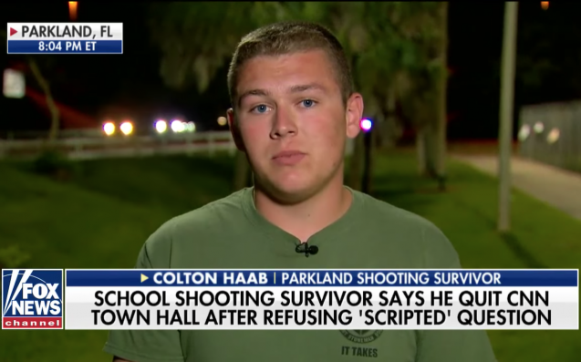 Parkland shooting survivor's father admits email changes in CNN spat
