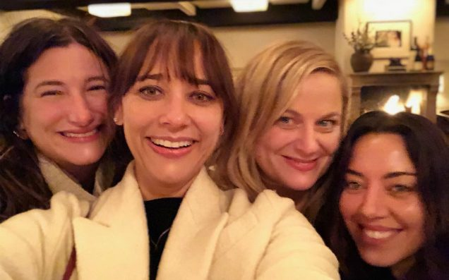 The 'Parks & Rec' Women Reunited To Celebrate The Holy Galentine's Day