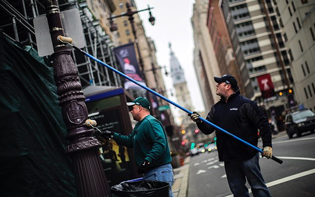 Philadelphia Has Covered Its Poles In Stronger Grease For The Super Bowl