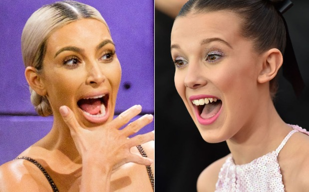Millie Bobby Brown Is All Of Us, Loses It Over Kim Kardashian's Perfume Gift
