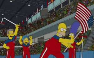'The Simpsons' Predicted Team USA Winning Gold In Curling WTF