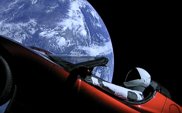 Pray For Elon's Car, Which Is Now Heading Straight For The Asteroid Belt