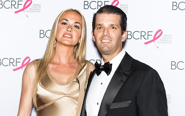 Donald Trump Jr's Wife Hospitalised After Being Sent Mysterious White Powder