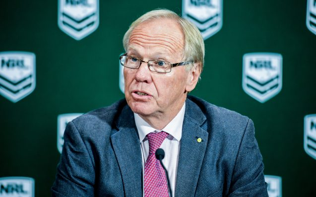 The New ARL Chairman May Or May Not Know Who The Cronulla Sharks Are