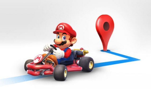 Get Directions From Mario Inside Google Maps