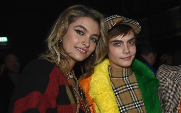 Paris Jackson and Cara Delevingne Kiss on Double Date With Macaulay Culkin