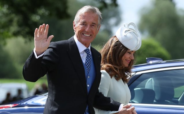 Pippa Middleton's father-in-law charged with rape of a minor