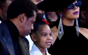 Here's Blue Ivy, Aged 6, Bidding $19,000 On An Artwork Like It's Normal