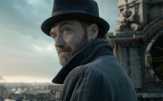 Oh Look, Jude Law's Hunky Dumbledore Leads The 'Fantastic Beasts 2' Trailer