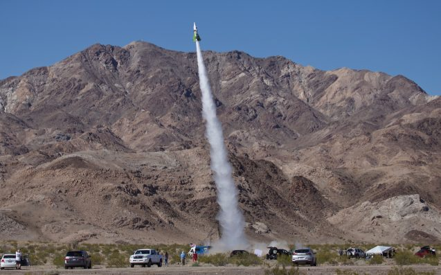 Mad Flat Earther Mike Hughes Finally Blasts Off in Homemade Rocket