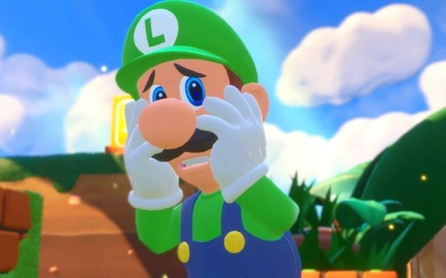 The internet is pretty pleased to see Luigi is well-endowed.