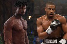 Michael B. Jordan Black Panther Creed Gym Workout Regime Body