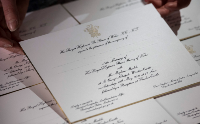Prince Harry and Meghan Markle wedding memorabilia hits the shelves