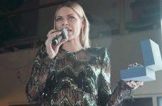 Sophie Monk PEZZYs Award F-Bomb Onstage
