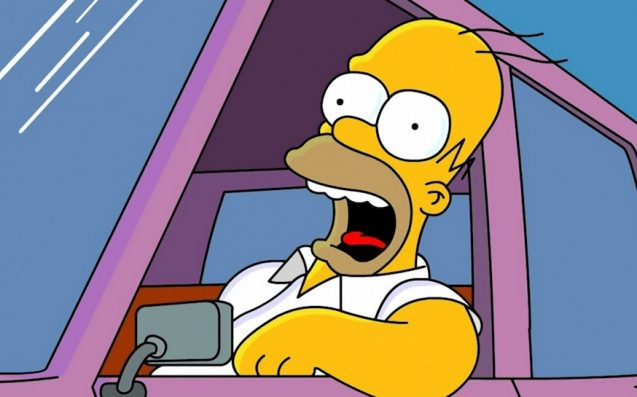 Police catch driver carrying fake Homer Simpson driving licence