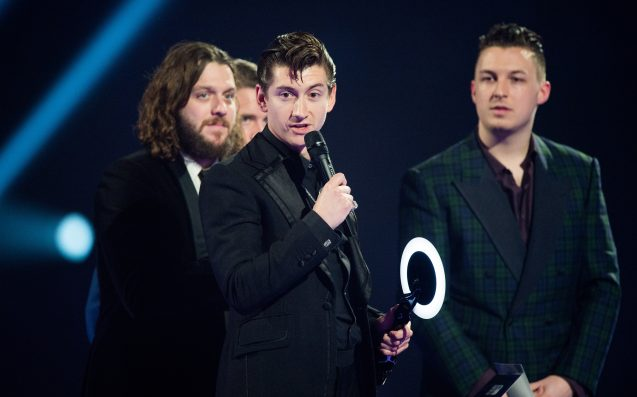 Arctic Monkeys reference The Strokes in opening line of new album