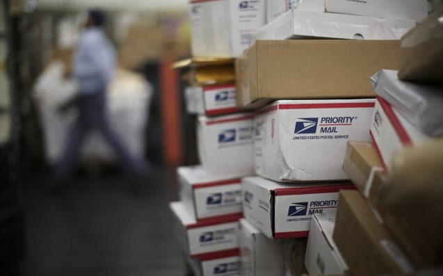Officials say postal worker hoarded over 17000 pieces of mail