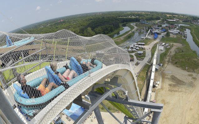 Designer of Schlitterbahn water slide arrested in DFW Airport