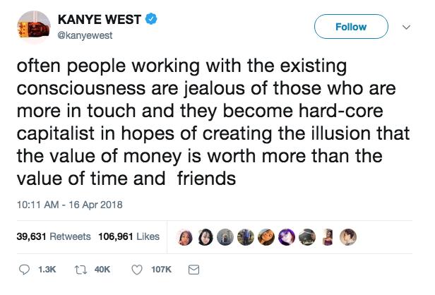 Kanye West Is Tweeting Again