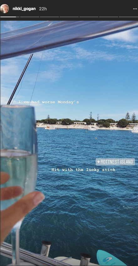 'Bachie' Exes Richie & Nikki Went To Rottnest On The Same Day & We Believe