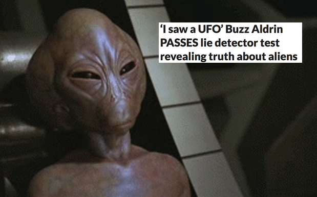 Totally Legit Report Says Buzz Aldrin Saw Aliens When He Was Up In Space
