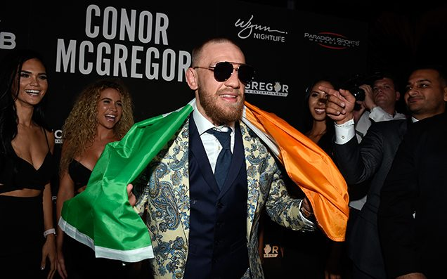 Here's Footage Of Conor McGregor Hurling A Hand Truck Through A Bus Window