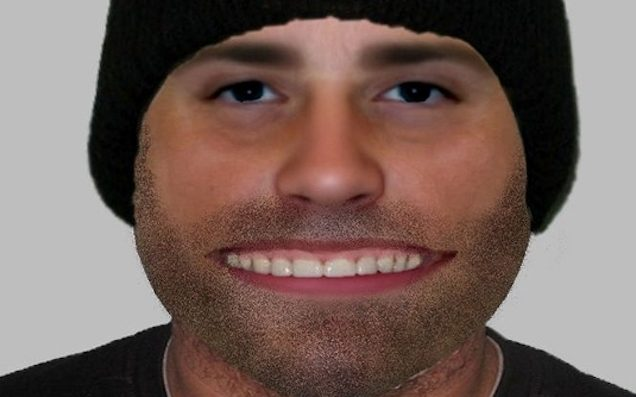 Police release 'bizarre' e-fit of distraction burglary suspect