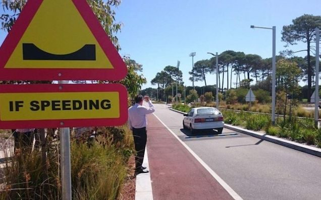 """Curtin Uni Just Copped Some """"Smart"""" Speed Bumps That'll Lay Waste To Yr Car"""