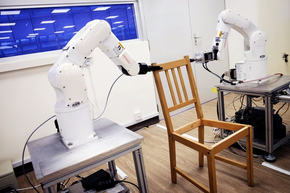 WATCH: Robot Somehow Assembles Ikea Chair, Rendering Human Beings Obsolete