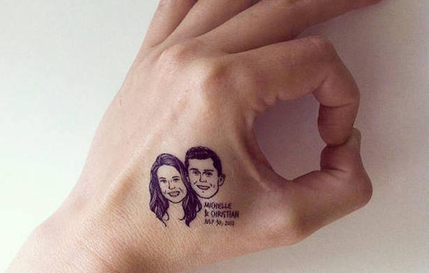 An Etsy Store Is Offering Temp Tattoos Based On Your Insufferable Couple Photos