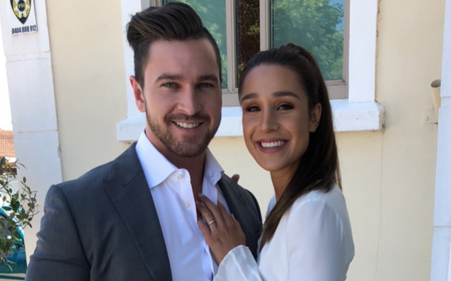 Kayla Itsines Reveals Engagement & A Ring That Could Double As A Kettlebell