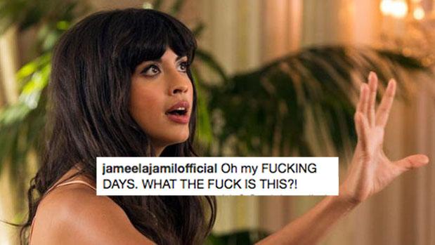 "Jameela Jamil Calls For Insta To Ban ""Dangerous"" Celeb Weight Accounts"