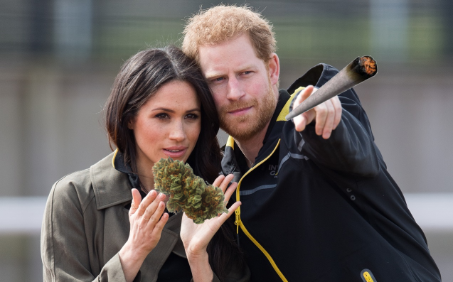 Meghan Markle's Nephew Wants To Launch A Dank Weed Strain Named After Her