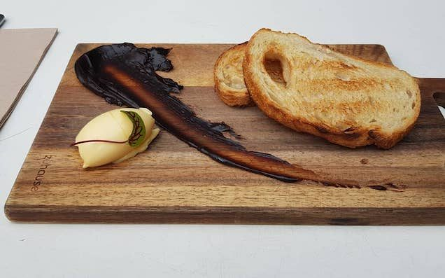 Feast Your Eyes On This Cafe's Deeply 2018 Vegemite Toast Deconstruction