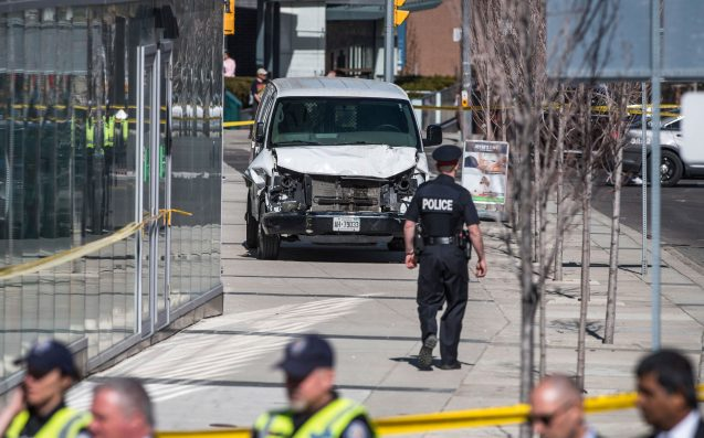 Toronto Van Accused Left Cryptic Message